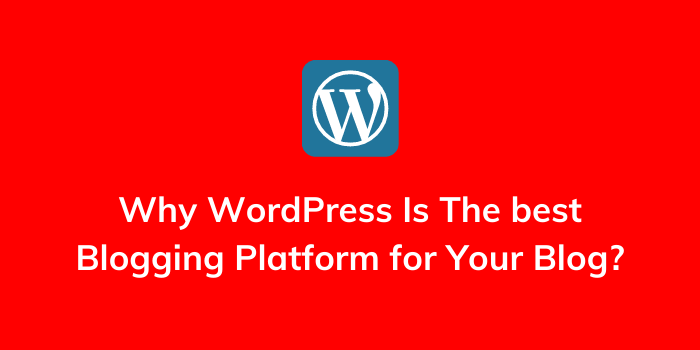 why WordPress is the best blogging platform for your blog in 2021