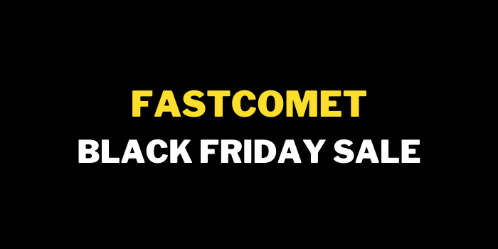 fastcomet black friday cyber monday sale 2021